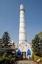 Z věže Dharahara...
