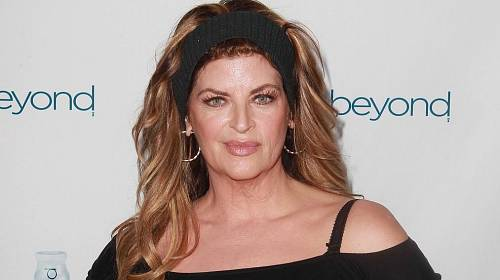 Herečka Kirstie Alley