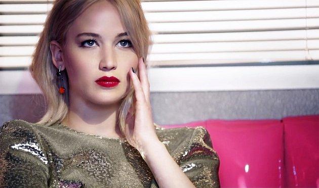 Jennifer Lawrence vreklamě pro Dior.