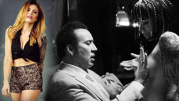 Nicolas Cage si svou novou filmovou roli vskutku užil!