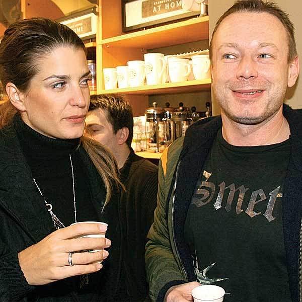 Michal Dvořák a Eva Jasanovská vypadali šťastnější než kdy jindy.