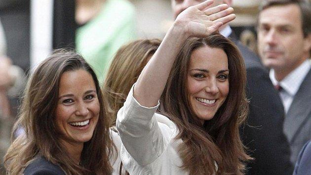 Pippa a Kate se usmířily.