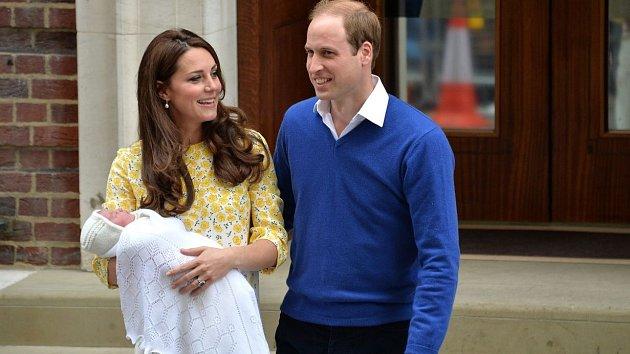 Kate, William a Charlotte Elizabeth Diana