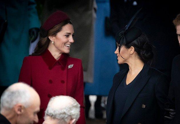 Meghan Markle a Kate Middleton