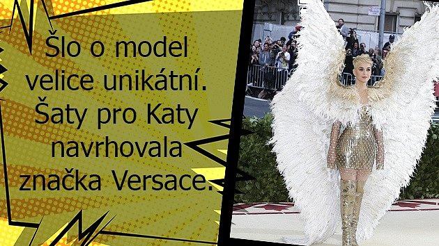 Katy Perry si na Met Gala oblékla opravdu úchvatný model.