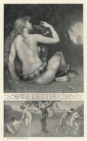 O Lilith psal v roce 1892 i tehdy slavný Scribner´s Magazine.