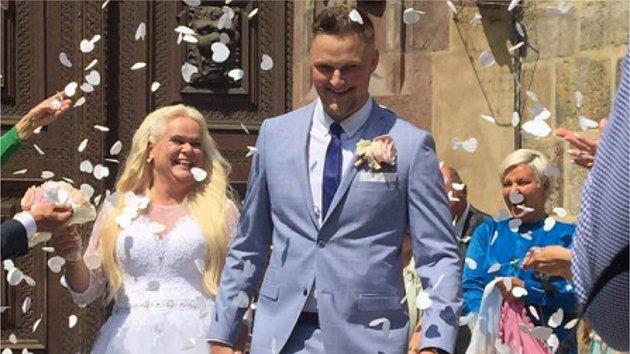 Monika Štiková svatba