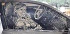 Špinavé auto je nové malířské plátno.