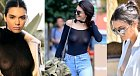 Kendal Jenner, jedna z Kardashianek má taky ráda prsa na volno. Užívá si pocit, kdy jí kolem bradavek vane větřík.