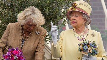 Královna Alžběta II. se chce Camilly zbavit!
