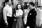 Jako začínající herec poboku Ann Sheridan, tehdy velké hvězdy. Záběr zfilmu City for Conquest (1940).
