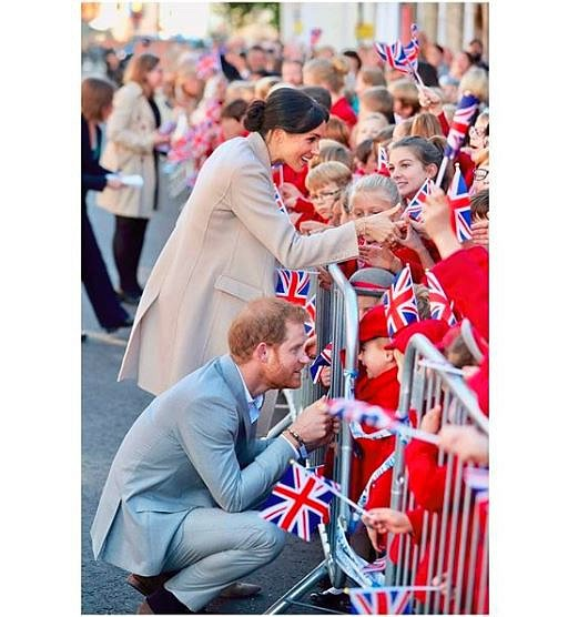 Instagram Meghan Markle a prince Harryho