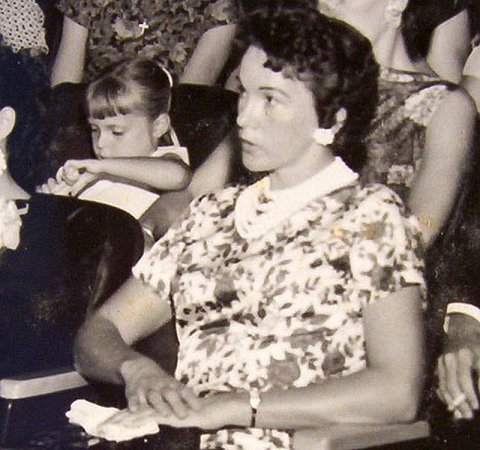Timmie Jean Lindsey jako mladá