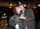 Jim Carrey s Kate Winslet na natáčení filmu Věčný svit neposkvrněné mysli.