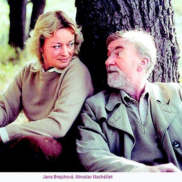 Půvabná blondýna vždy patřila knejkrásnějším herečkám. Na snímku sMiroslavem Macháčkem ve filmu Skalpel, prosím (1985).