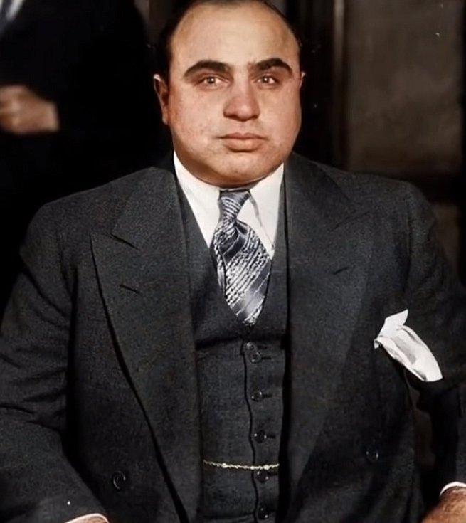 Al Capone v roce 1935.