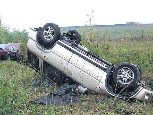 Při nehodě se zranili oba řidiči.