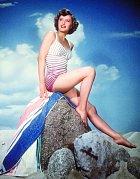 Krásná, ale bez hvězdných manýrů. Barbara byla mezi filmaři velmi oblíbená.