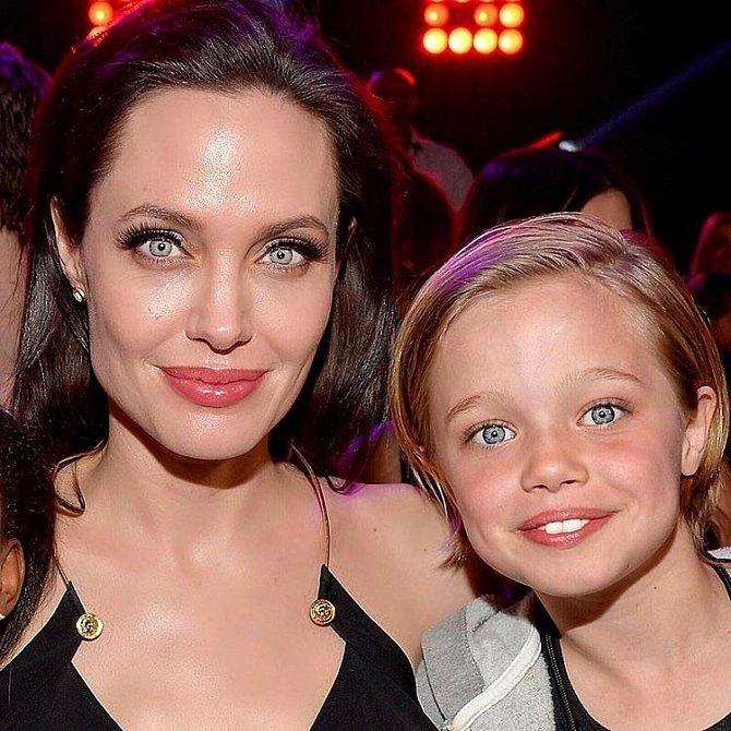 Shiloh Jolie-Pitt s Angelinou.