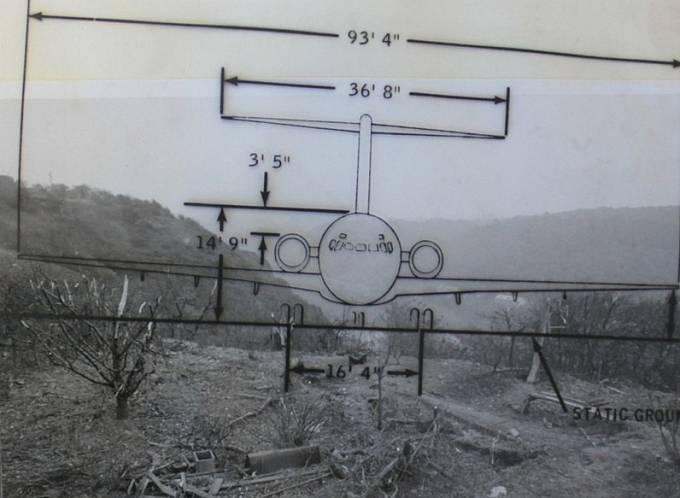 K tomu, aby letadlo přeletělo vršek Sedleckých skal cca 75 metrů nad hladinou Vltavy, chybělo doslova pár metrů.