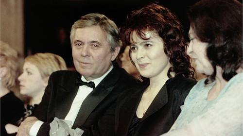 Libuše Šafránková a Josef Abrhám
