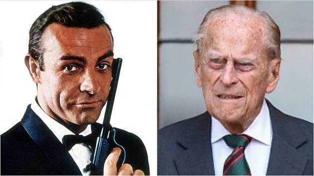 Princ Philip a James Bond