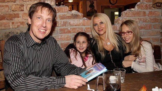 Stanislav Gross s rodinou