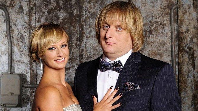 Lucie Hunčárová a její taneční partner Lukáš Pavlásek