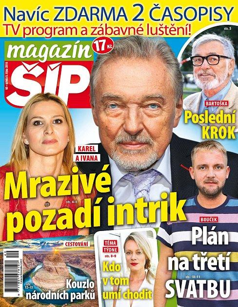 Titulní strana Magazínu Šíp 5.10.2016