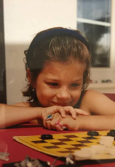 Eva si potrpěla na prstýnky už jako dítě.