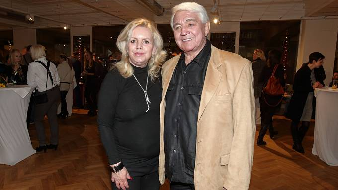 Hana Krampolová s manželem.