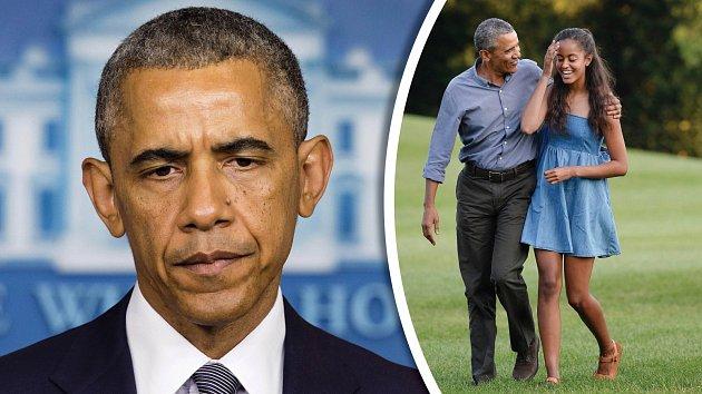 Barack Obama doufá, že si jeho dcera rozmyslí kariéru modelky.