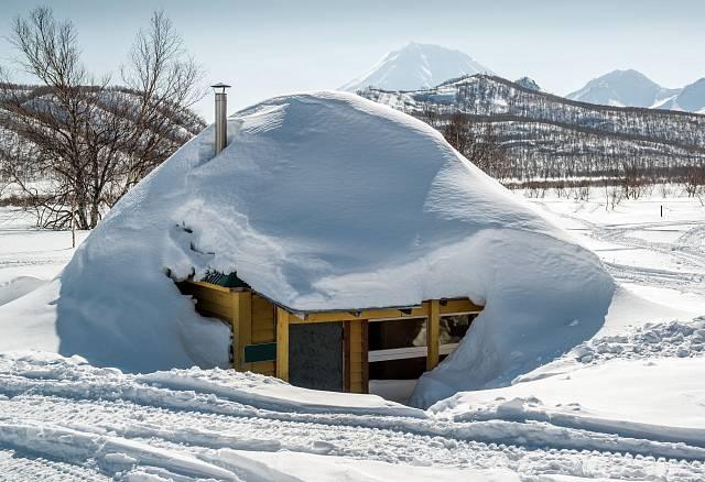 Sněhu tu za zimu napadá opravdu hodně.