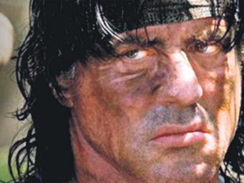 Sylvester Stallone ve filmu John Rambo IV.