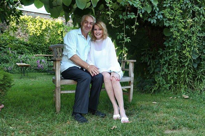 S Josefem Rychtářem strávila zpěvačka poslední roky svého života.