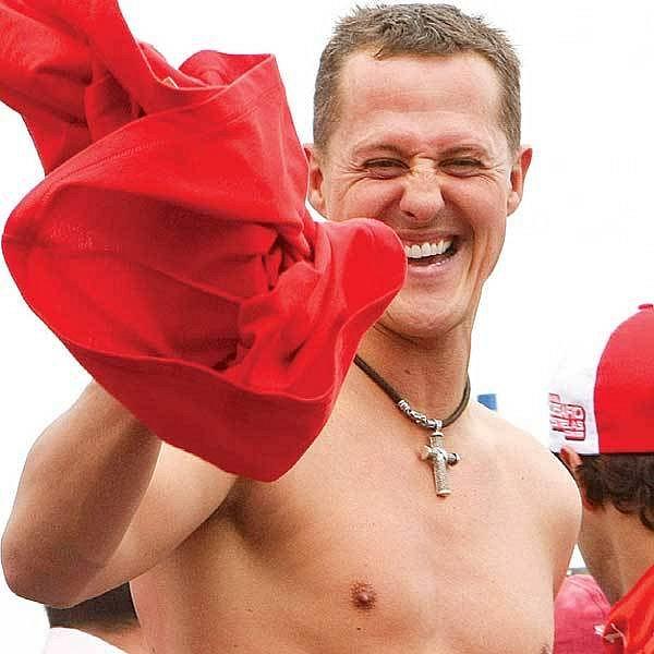 Michael Schumacher je vpohodě. Testuje uFerrari a jestli se vrátí do formule 1, je otázkou.
