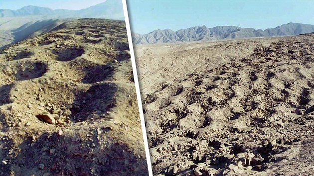 Proč někdo vyhloubil vnehostinné pustině tisíce děr?