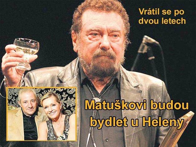 Waldemar Matuška a Helena Vondráčková jsou dlouholetí kamarádi a vzájemně se navštěvují. Teď je na Heleně Vondráčkové s manželem Martinem Michalem, aby se stali dobrými hostiteli a poskytli Waldovi ubytování.