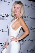 Krátce nato polská modelka zářila ve veřejných prostorách Las Vegas.