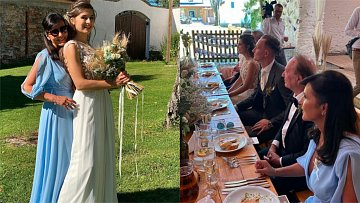 Eliška Jandová svatba