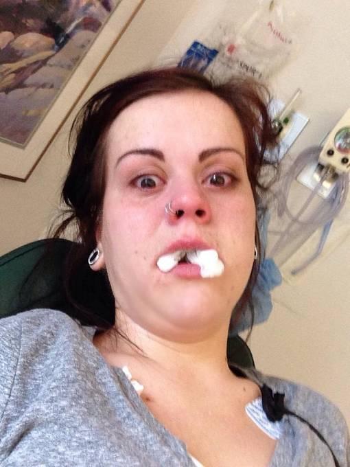 """""""Včera jsem byla u zubaře. A ráno našla v telefonu toto..."""""""