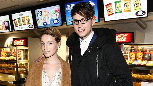 Anna Fialová s partnerem