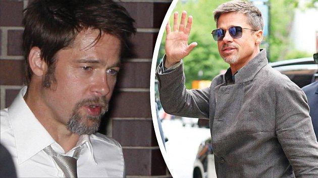 Zakalený pohled a nevolnost vyměnil Brad Pitt za pohodu a dobrou náladu. Jak to udělal?
