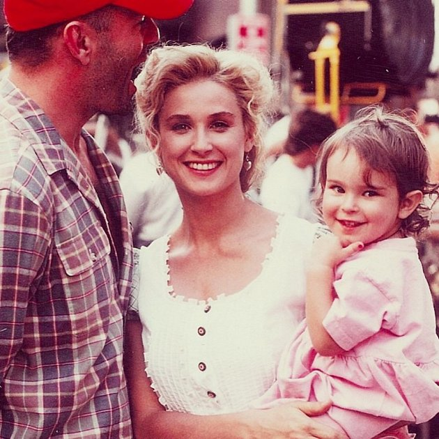 Demi Moore a Bruce Willis