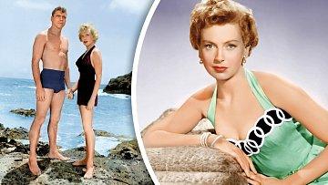 SBurtem Lancasterem měla slavnou milostnou scénu vefilmu Odtud až navěčnost (1953).