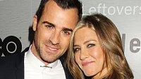 Jennifer Anistonová a Justin Theroux