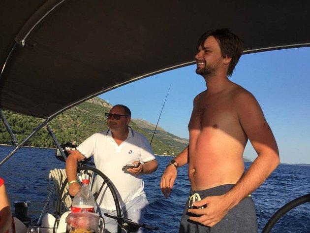 Pepa Vágner na dovolené vChorvatsku