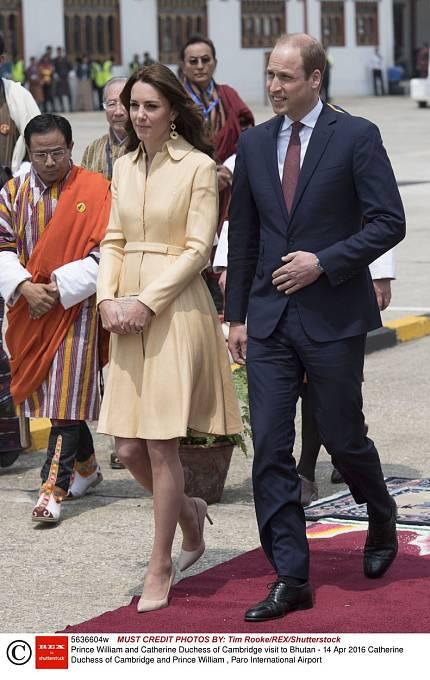 Kate s manželem.