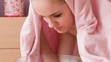 Inhalace ucpanému nosu většinou pomůže.
