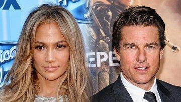 Nový hvězdný pár na obzoru? Dost možná. Jennifer Lopez prý randí s Tomem Cruisem.